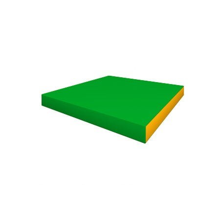 Mat 100x100 Green-yellow