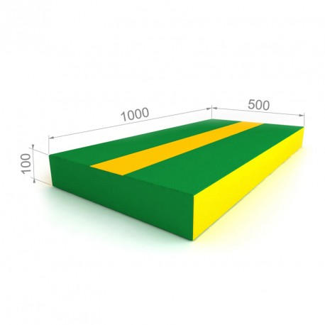 Mat 50x100 Green-yellow