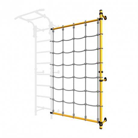 SPORTKID Wall mounted cargo net set