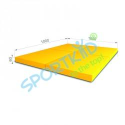 Складной мат kid (4x) 1000 x 1000 x 60мм