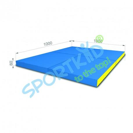 Folding mat kid (4x) 1000 x 1000 x 60mm