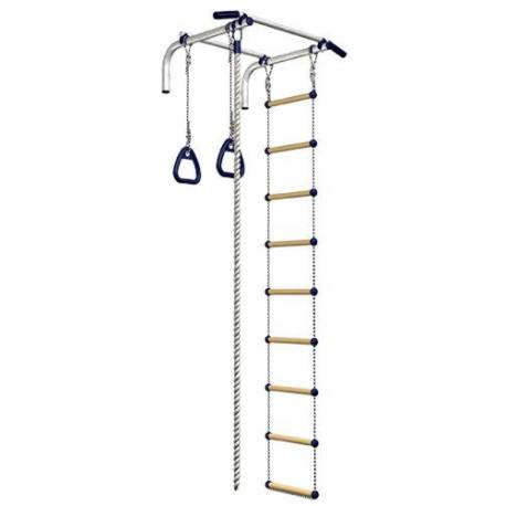 WALL-MOUNT BAR WITH AUXILIARY EQUIPMENT