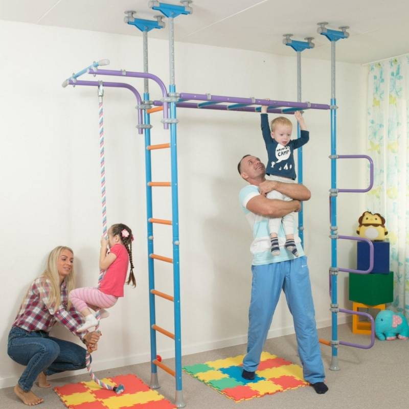 Play dome jungle gym indoor playground climbing frame for Playmobil kinderzimmer 4287